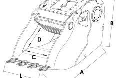 Godets concasseurs Trevibenne BM 35e