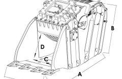 Godets concasseurs Trevibenne BM 15